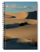 Form And Light At Death Valley Spiral Notebook