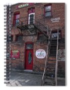 Former Oasis Bordello In Wallace Idaho Mining Town Spiral Notebook