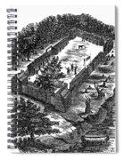 Fort Boonesborough, 1775 Spiral Notebook