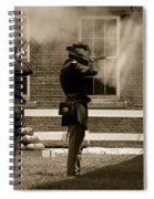 Fort Delaware Soldiers Spiral Notebook