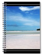 Fort Desoto Beach Spiral Notebook
