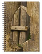 Fort In Layers Spiral Notebook