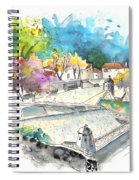 Fort In Valenca In Portugal 01 Spiral Notebook