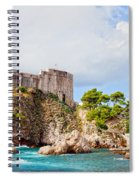 Fort Lovrijenac In Dubrovnik Spiral Notebook