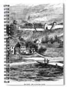 Fort Mackinac, C1814 Spiral Notebook