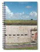 Fort Macon Panorama 1 Spiral Notebook