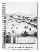 Fort Mchenry, 1862 Spiral Notebook