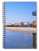 Fort Myers Beach Spiral Notebook