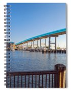 Fort Myers Bridge Spiral Notebook