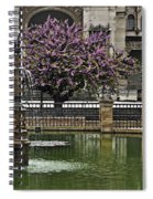 Fountain And Tree Spiral Notebook
