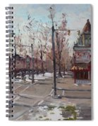 Four Corners At Bidwell Parkway Spiral Notebook