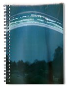 Four Weeks Of The Sun Moving Spiral Notebook