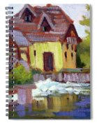 Fourge Mill Giverny Spiral Notebook