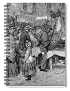 Fourth Of July, 1888 Spiral Notebook