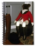 Fox Hunt Decorations Spiral Notebook