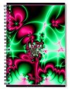 Fractal 4 Spiral Notebook