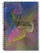 Fractimagination Spiral Notebook