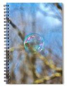 Fragile Contrast Spiral Notebook