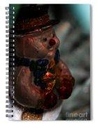 Fragile Frosty Spiral Notebook