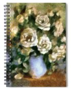Fragrant Roses Spiral Notebook