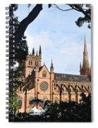 Framed Cathedral Spiral Notebook