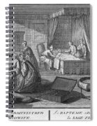 France: Baptism At Home Spiral Notebook