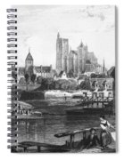 France: Bourges Spiral Notebook