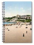 France: Casino, C1895 Spiral Notebook