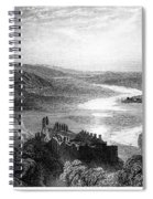 France: Chateau, 1853 Spiral Notebook