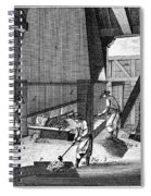 France: Iron Forge, C1750 Spiral Notebook