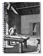 France: Iron Mill, C1750 Spiral Notebook