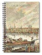 France: La Rochelle, 1762 Spiral Notebook