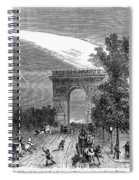 France: Meteor, 1868 Spiral Notebook
