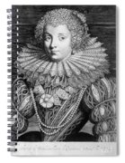France: Noblewoman Spiral Notebook