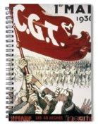 France: Popular Front, 1936 Spiral Notebook