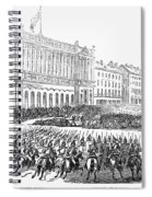 France: Revolution Of 1848 Spiral Notebook
