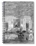 France: Royal Visit, 1855 Spiral Notebook