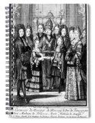 France: Royal Wedding Spiral Notebook