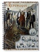 France: Socialism, 1900 Spiral Notebook
