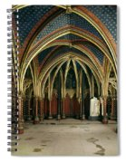 France: Ste. Chapelle Spiral Notebook