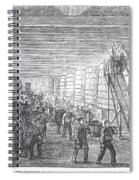 France: Winemaking, 1854 Spiral Notebook
