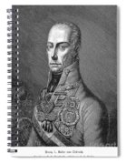 Francis II (1768-1835) Spiral Notebook