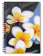 Frangipani I Spiral Notebook