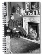 Frank Harris (1854-1931). American Writer Born In Galway, Ireland Spiral Notebook