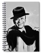 Frank In Black And White Spiral Notebook