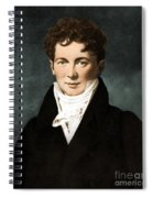 Fran�ois Magendie, French Physiologist Spiral Notebook