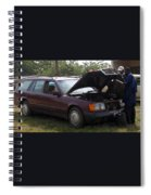 Fred The Car Spiral Notebook