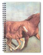 Free And Fleet As The Wind Spiral Notebook
