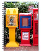 Free Color Spiral Notebook