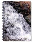 Free Fallen Spiral Notebook